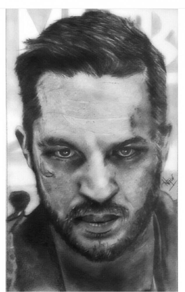 Tom Hardy by andromeda9999